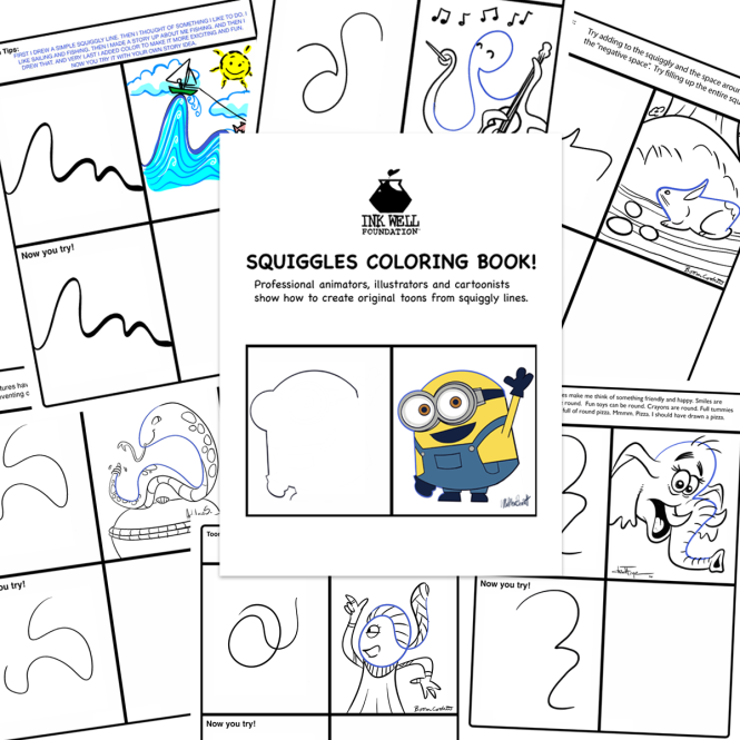 promo squiggle collage